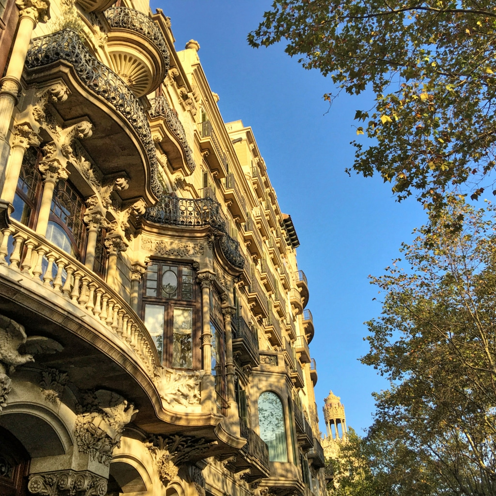 Blue & Yellow: Barca Building ©HelenBushe