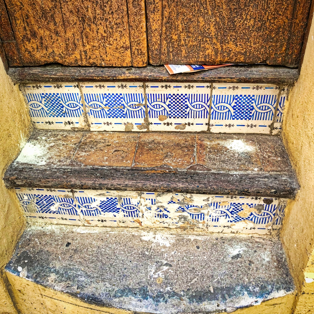 PALMA: Tiled Steps (Detail) ©HelenBUuhe
