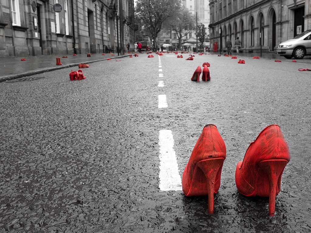 RED: Shoes
