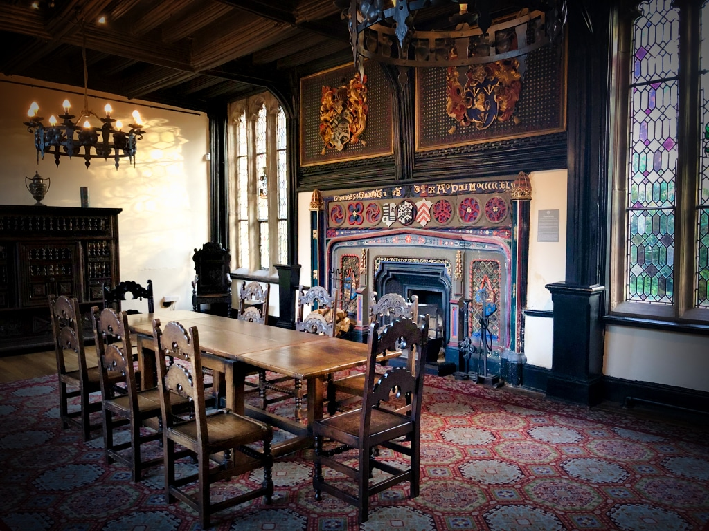 Empty Chairs in Samlesbury Hall ©HelenBushe
