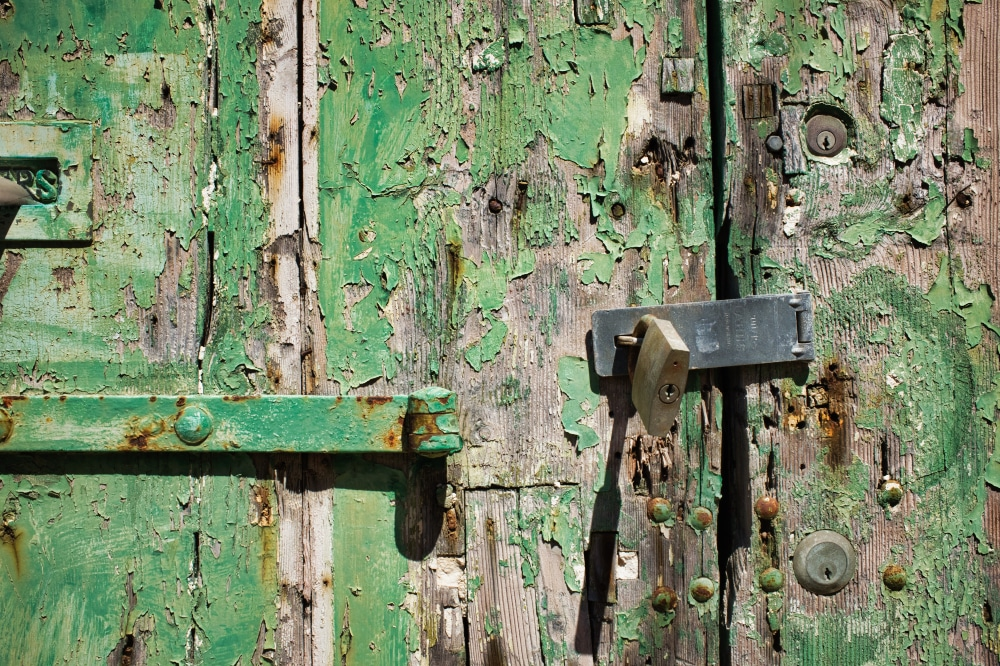 Green Door Detail ©HelenBushe